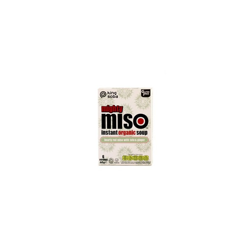 Instant Miso Suppe Rote Miso mit Tofu...