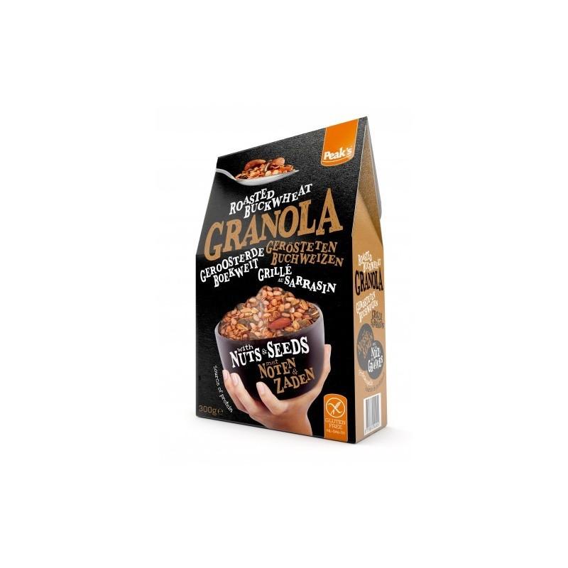 Granola mit Buchweizen, Nüsse und...