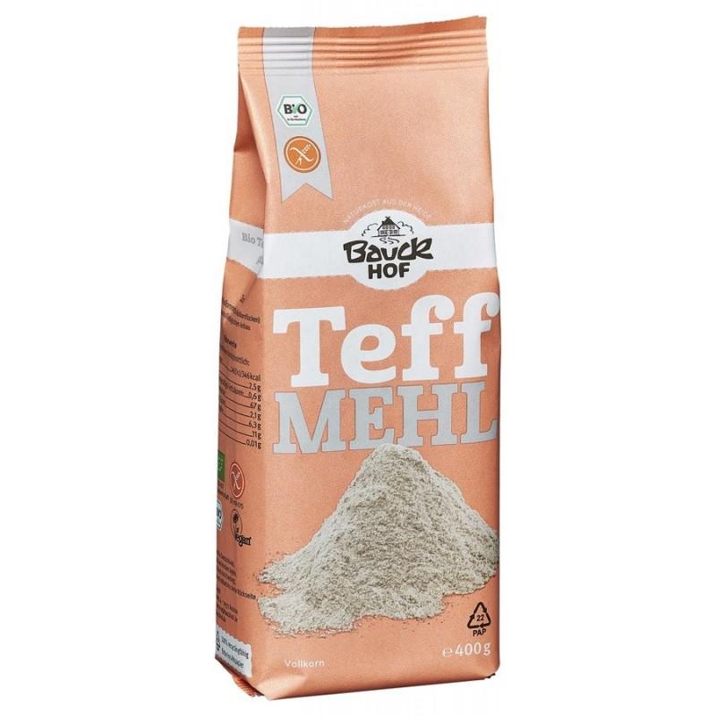 Teffmehl hell 400 gram