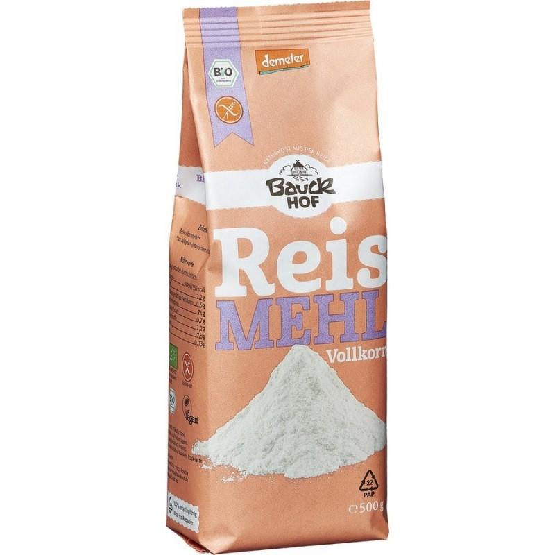 Reismehl Vollkorn 500 gram